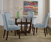 Dining Room Furniture-The Alcove Aqua Collection-Alcove Table
