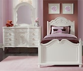 Kids Furniture-Grace 5 Pc. Full Bedroom