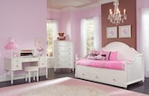 Kids Furniture-The Grace II Collection-Grace Dresser & Mirror