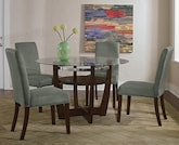 Dining Room Furniture-The Alcove Sage Collection-Alcove Table