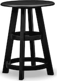 Accent and Occasional Furniture-Carolina Coastal Black Lamp Table