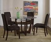 Dining Room Furniture-The Alcove Chocolate Collection-Alcove Table