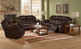 Living Room Furniture-The Maverick Collection-Maverick Reclining Sofa