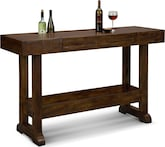 Accent and Occasional Furniture-Loring Console Bar