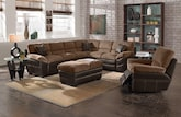 Living Room Furniture-The Chandler Beige II Collection-Chandler Beige II 2 Pc. Sectional
