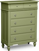 Kids Furniture-Mayflower Green Chest
