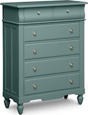 Kids Furniture-Mayflower Blue Chest