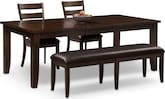 Dining Room Furniture-Martin 4 Pc. Dinette