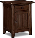 Kids Furniture-Wentworth Dark Nightstand