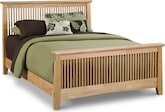 Bedroom Furniture-Wentworth Light Queen Bed
