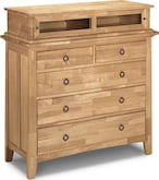 Bedroom Furniture-Wentworth Light Media Chest