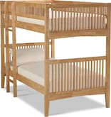 Kids Furniture-Wentworth III Light Twin Bunk Bed