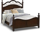 Bedroom Furniture-Lowell King Bed
