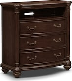 Bedroom Furniture-Lowell Media Chest