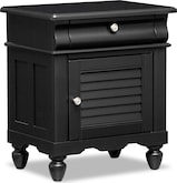 Kids Furniture-Mayflower Black Nightstand