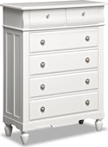 Kids Furniture-Mayflower White Chest
