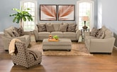 Living Room Furniture-The Barbados II Collection-Barbados II Sofa