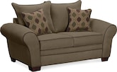 Living Room Furniture-Rendezvous Loveseat