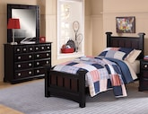 Kids Furniture-Landon II 5 Pc. Twin Bedroom