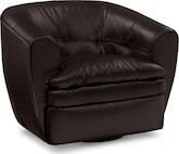Living Room Furniture-The Summit Collection-Summit Swivel Chair