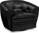 Accent and Occasional Furniture-Siegel Swivel Chair