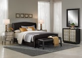 Bedroom Furniture-The Bellevue II Collection-Bellevue II Queen Bed