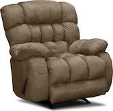 Living Room Furniture-Bradley Rocker Recliner