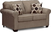 Living Room Furniture-Fletcher Twin Sleeper Sofa