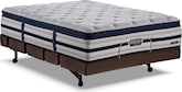 Mattresses and Bedding-Stonehaven Rize Adjustable King Mattress/Split Foundation Set