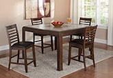 Dining Room Furniture-The Hillsboro II Collection-Hillsboro II Counter-Height Table