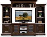 Entertainment Furniture-The Amherst Collection-Amherst 4 Pc. Entertainment Wall Unit
