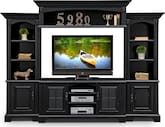 Entertainment Furniture-The Amherst II Collection-Amherst II 4 Pc. Entertainment Wall Unit