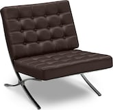 Living Room Furniture-Casino III Accent Chair