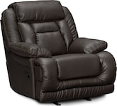 Living Room Furniture-Springer Godiva Glider Recliner