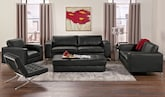 Living Room Furniture-The Casino II Collection-Casino II Sofa