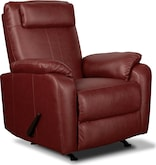 Living Room Furniture-Barlow Rocker Recliner