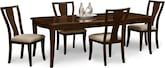 Dining Room Furniture-Chantal 5 Pc. Dinette