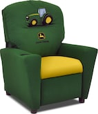 Living Room Furniture-John Deere Child's Recliner