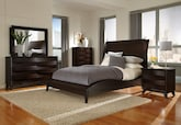 Bedroom Furniture-The Atwater Collection-Atwater Queen Bed