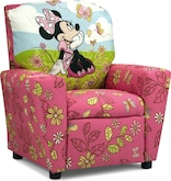 Living Room Furniture-Minnie Mouse Child's Recliner