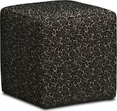 Living Room Furniture-Safari Cube Ottoman