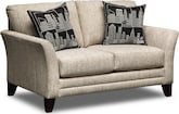 Living Room Furniture-Bowery Loveseat
