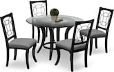 Dining Room Furniture-Pasadena 5 Pc. Dinette