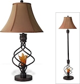 Home Accessories-The Fire Light Collection-Fire Light Table Lamp
