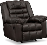Living Room Furniture-The Greeley Collection-Greeley Rocker Recliner