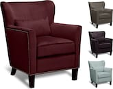 Living Room Furniture-The Miata Collection-Miata Accent Chair