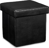 Living Room Furniture-Abbot Folding Cube Ottoman