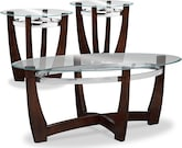 Accent and Occasional Furniture-Daly 3-Pack Tables