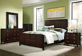 Bedroom Furniture-The Palladia Collection-Palladia Queen Bed