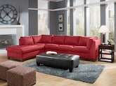 Living Room Furniture-The Hudson Red Collection-Hudson Steel Blue 2 Pc. Sectional